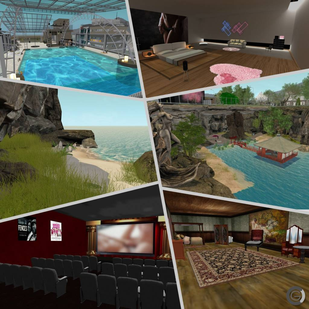 Caprica City adult recreation areas