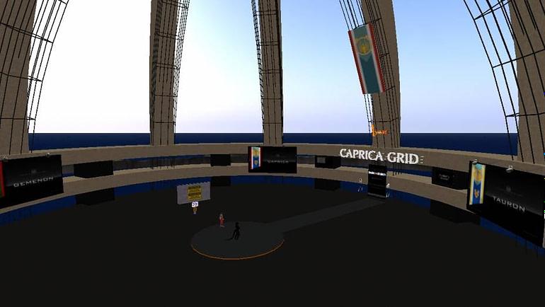 Caprica Grid region Capitolium