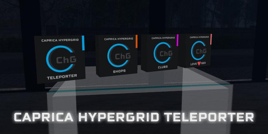 Caprica Hypergrid Teleporter HUD